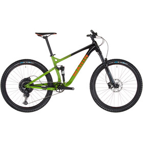 Marin Rift Zone 1, gloss black/green/orange